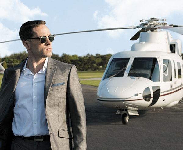 Helicopter to Hamptons